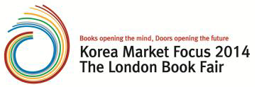Korea Market Focus London Book Fair 2014 Logo