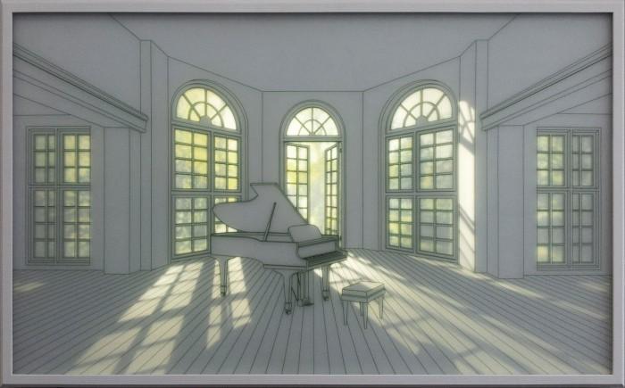 livingroomwithgardenviewi2012116x73x5.5cmledtemperedglassdecalcomania