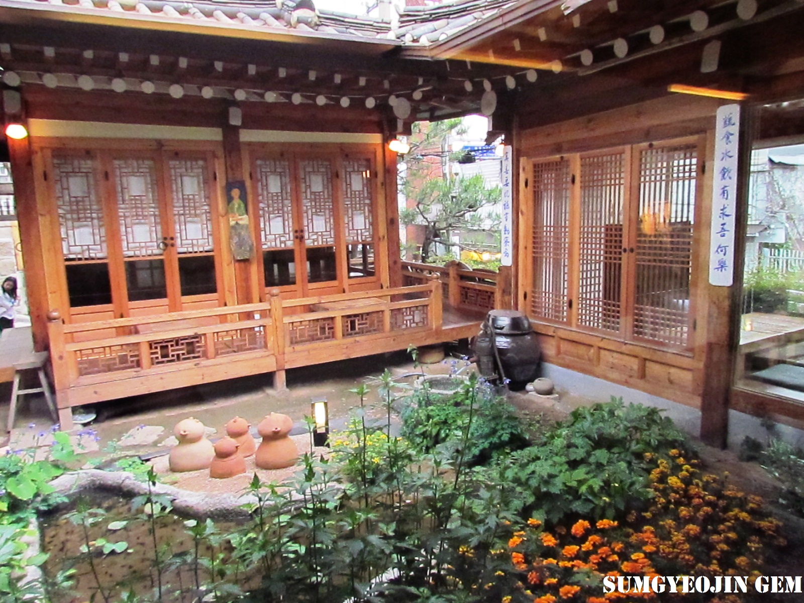 Traditional Teahouses in Bukchon and Insadong, Seoul ...